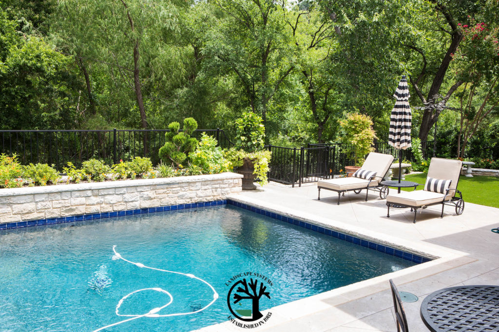 Making your Backyard an Oasis [Pool Landscaping Design Keller Texas ...
