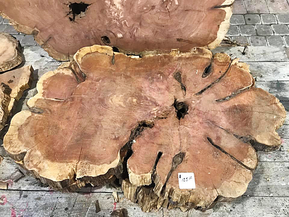 Live Edge Wood Slabs for Sale in Keller Texas Landscape Systems Garden Center