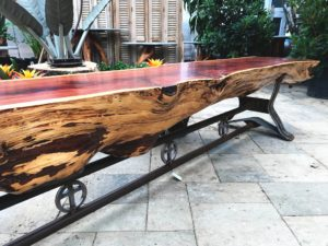 Live Edge Wood Furniture for Sale in Keller Texas Landscape Systems Garden Center