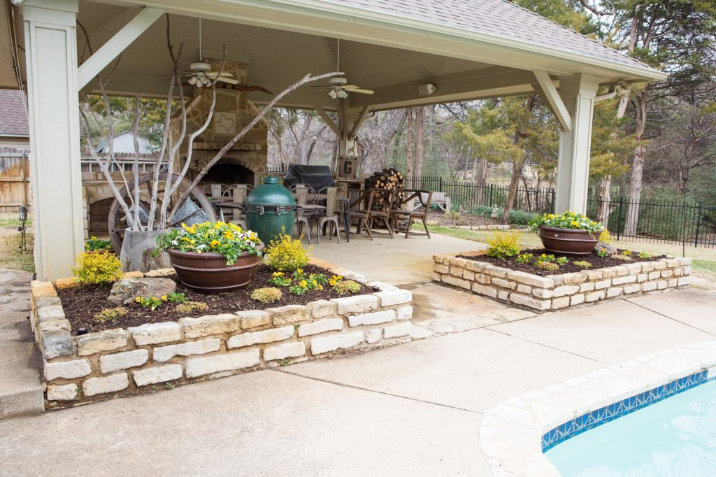 Southlake Landscape Design Backyard Pool Lanscaping